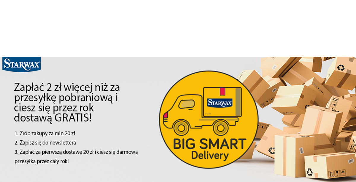 Starwax Big Smart Delivery